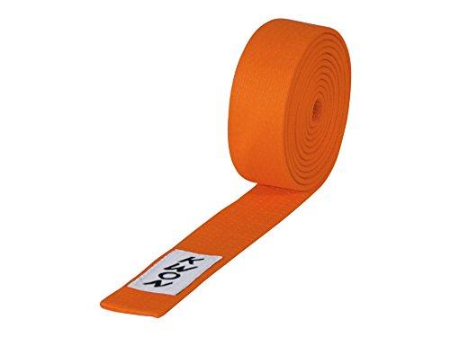 KWON Budogürtel 4 cm breit 280 orange
