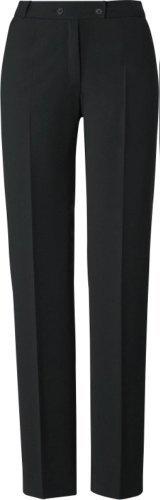 GREIFF Damen-Hose Anzug-Hose PREMIUM comfort fit - Style 1341 - schwarz - Größe: 38 - Damen Wolle Anzug