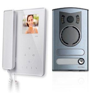 Elvox 7529/M - Kit Videocitofonico Due Fili M/Bif. (Kit Targa Hardware)