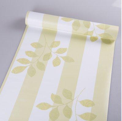 REAGONE 5 MA Wasserdichte Self Adhesive Tapete Tapete ist nicht mit dem Selbstklebeetikett selbstklebende Tapete inbegriffen und Klebstoff, ist 5 Meter, großes Grün Leaves.705004