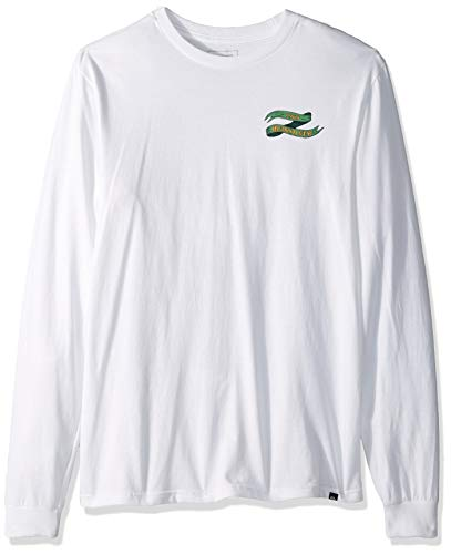Classic Long Sleeve Logo Tee (Quiksilver Herren Electric Ocean Long Sleeve Tee Hemd, weiß, XX-Large)