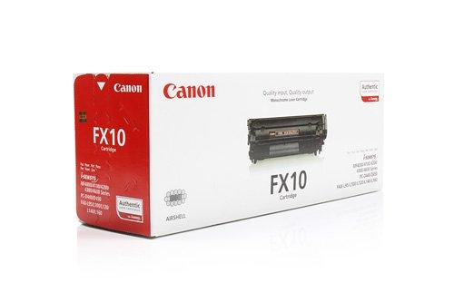 Canon Original 0263B002 / FX-10, für i-SENSYS Fax L 100 Premium Drucker-Kartusche, Schwarz, 2000 Seiten