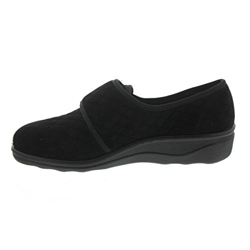 Romika Women Romisana 169 Pantofole 70019-70-100 nero Nero