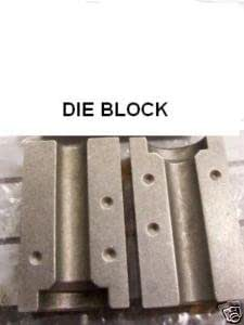 Clarik 6Mm Sae 45 Deg Set Of Dies (Tl986) To Suit Brake Flare Tool