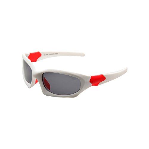 LZXC Lunettes de Soleil Polarisées Hommes Sports pour Ski Conduite Golf Course Cyclisme Conception du Cadre Super Léger Tr90 pour Hommes et Femmes LC60-1 7Do8oBys9