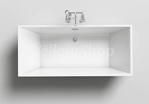 Vasca Da Bagno Freestanding Rettangolare : Yellowshop vasca vasche da bagno rettangolare freestanding