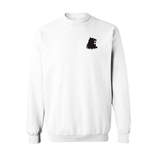 DAXIAL Sweat-shirt Men's Long Sleeve T-Shirt Motif Animal Hommes Lâche Lâche T-Shirt Long Sleeve Sportswear