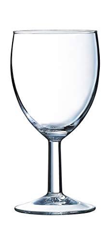 Arcoroc ARC 27786 Savoie Weinkelch, Weinglas, 190 ml, Glas, transparent, 12 Stück