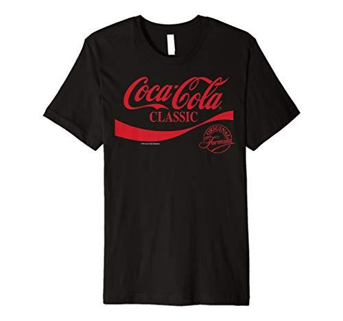 Coca-Cola Classic Original Formula Red Logo Graphic T-Shirt