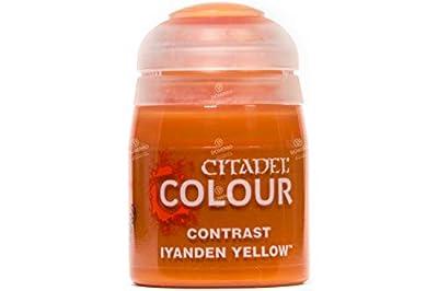Games Workshop Citadel Pot de Peinture - Contrast Iyanden Yellow (18ml)