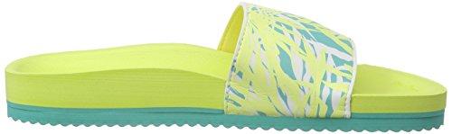 flip*flop Pool Seaweed, Sandales ouvertes femme Multicolore - Mehrfarbig (370)