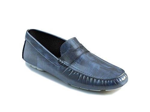Chaussures Sur Mesure - Mocassin - Homme Bleu