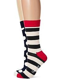 Happy Socks Stripe Gift Box, Calzini Donna (Pacco da 4)