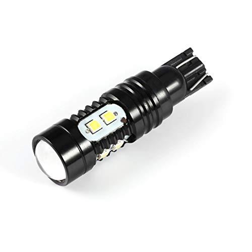 Gwendoll 921 912 T10 / T15, 50W, Phare de la Voiture, Blanc, Feu de recul, Ampoule à LED, pour Marche de Jour ou Feu antibrouillard, Feu arrière