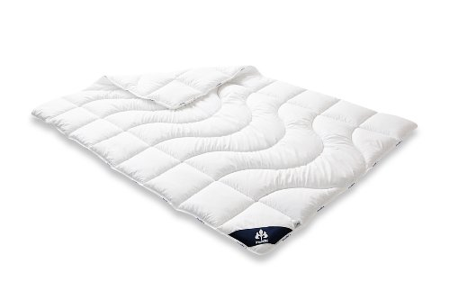 Badenia Bettcomfort Steppbett Irisette Micro Thermo Duo, 135 x 200 cm, weiß