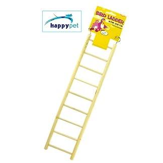 Active Cage Fun Wooden 9 Step Bird Ladder 3