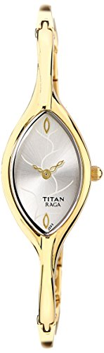 Titan Silver Dial Women's Analog Watch - NF9701YM01J