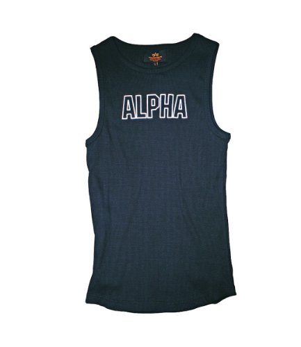 Alpha Industries Track Top 191515 (L, black) (Alpha-track)