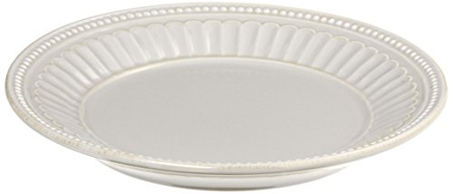 Lenox French Perle Everything Plate, White Lenox Perle