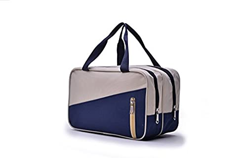 DMXY-Wash makeup bag separate wash makeup bag waterproof Large capacity lovers pack outdoor sports swimming Pack,Dark blue