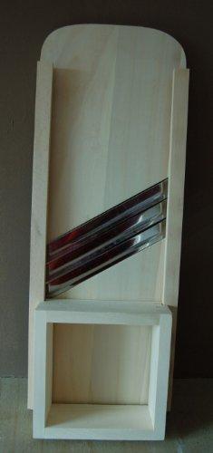 Krauthobel, Krautschneider 65 x 24 cm 3 Messer