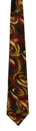 mens-silk-feel-tie-funky-retro-vintage-cool-style-great-wow-paper-planes