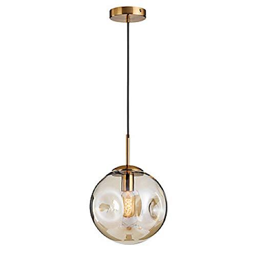 Nordic postmodernen Licht Luxus Spielerei Glas Kronleuchter kreative Kunst Restaurant Wohnzimmer Schlafzimmer @ 110-240V_Amber -