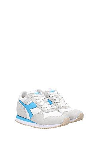20117058801C6165 Diadora Heritage Sneakers Femme Tissu Blanc Blanc