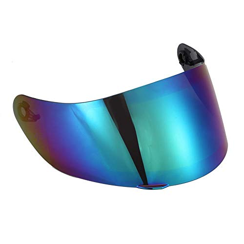 Liukouu motorradhelm objektiv winddicht gesichtsmaske blau farbe fit für k1 k3sv k5
