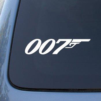 007-james-bond-vinyl-car-decal-sticker1763-vinyl-color-white