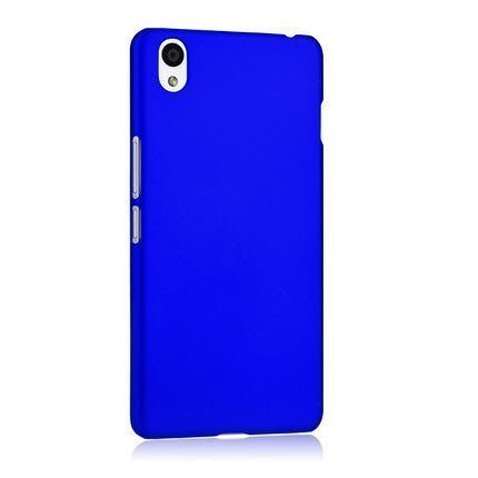Drax Rubberised Matte Hard Case Back Cover For Micromax Canvas Turbo A250 (Royal Blue)  available at amazon for Rs.299