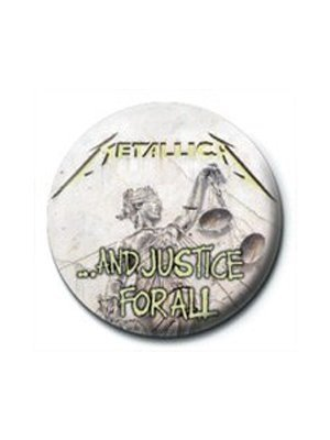 Preisvergleich Produktbild Metallica And Justice For All Button. Offiziell lizenziert