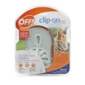 Off! - Appareil anti-moustique clipsable de base - 2 ml (Lot de 6)