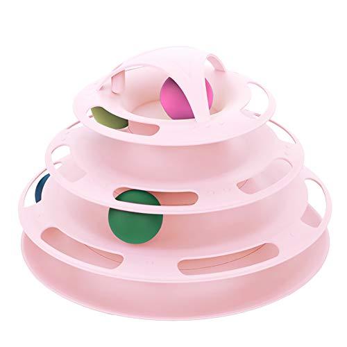 Homeofying quattro strati tower tracks disco intelligence amusement rides mensola gatto pet giocattolo per gatto