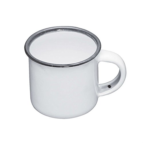 kitchencraft-living-nostalgia-enamel-espresso-mug-90-ml-3-fl-oz-white-grey