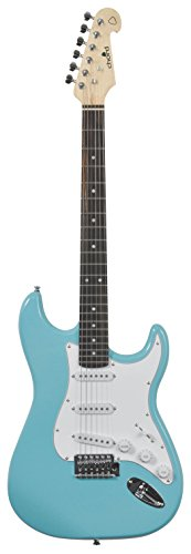 Chord Professionelle E-Gitarre Kabukalli Standard Blau (Surf Blue)