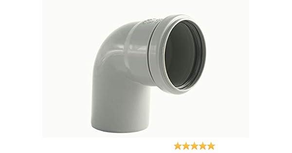 HT Rohr Abwasserrohr HT Bogen Formst/ücke Abwasser Installation DN 40 50 70 100//110 HT Rohr 500mm, DN70//75
