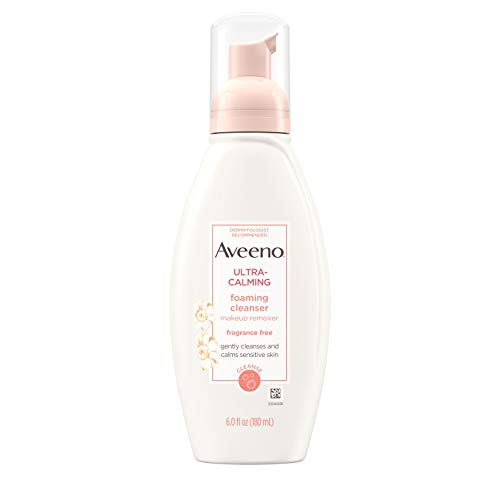 Aveeno Active Naturals Ultra-Calming Foaming Cleanser Fragrance-Free 175 ml -