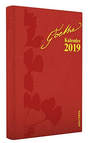 Goethe Taschenkalender 2019 - 3