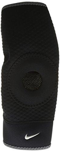 Nike Kniebandage Patella Open, unisex, 9.337.016.020, Black/Dark Charcoal, xl