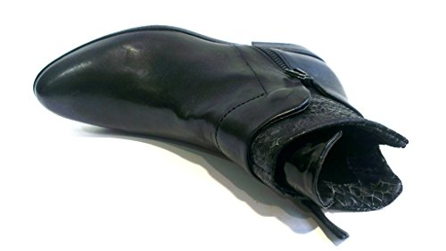 Mjus 767204-0201-6455 Damen Kurzschaft Stiefel Nero