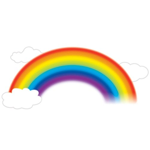 RoomMates RMK1629GM - Pegatinas para pared con diseño de arcoiris
