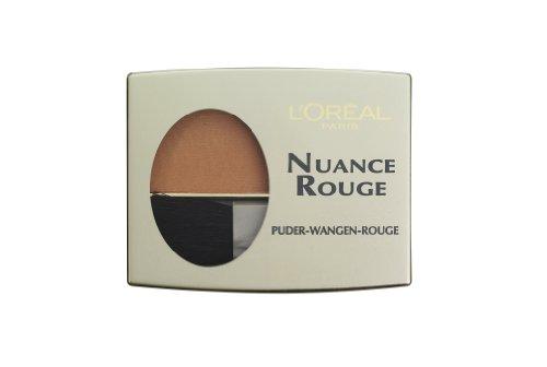 L\'Oréal Paris Nuance Rouge, 107 Haselnuß / Wangenrouge für natürlich-mattes Make-Up-Finish, für jeden Hauttyp / 1 x 6g