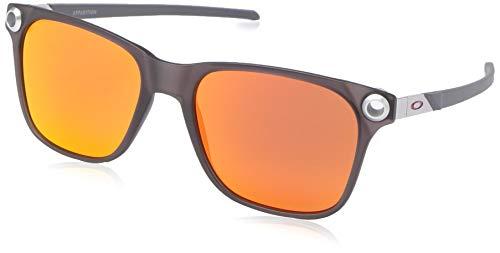 Ray-Ban Herren 0OO9451 Sonnenbrille, Schwarz (Satin Black Ink), 55