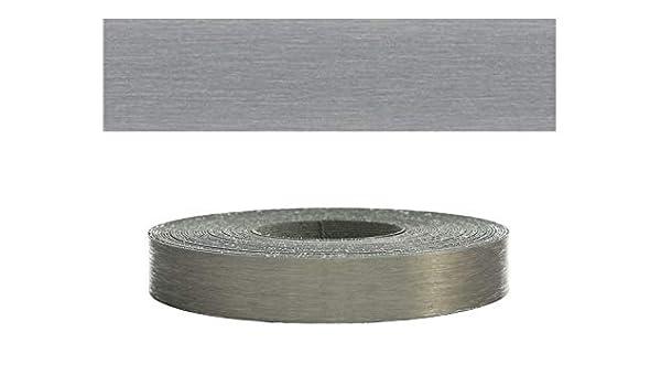 Mprofi MT/® Bordi melaminici per i bordi dei mobili con colla Bianco liscio 45 mm 20m Rotolo