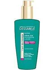DESSANGE Crème Soie l'Art du Lissage/Anti-Frisottis 4 Jours 125 ml - Lot de 4