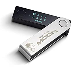 Ledger Nano X - to The Moon Edition - Portefeuille de Cryptomonnaies - Bluetooth