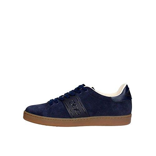 Serafini CAMP.63 Sneakers Uomo Camoscio Blu Blu 42