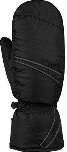 Snowlife signora guanti da sci Scratch Mitten, black, L/XS
