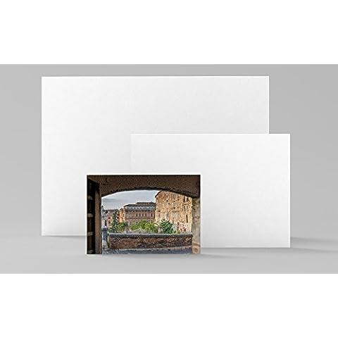 Quadro con panorama | Perugia | Pannello in forex 35 x 50 cm